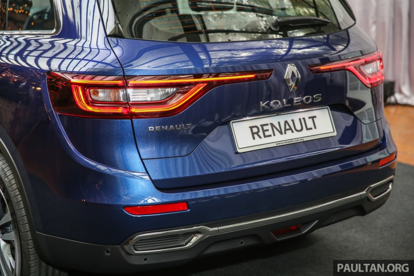 2016 Renault Koleos 2.5L launched in M'sia – RM173k Image #542200