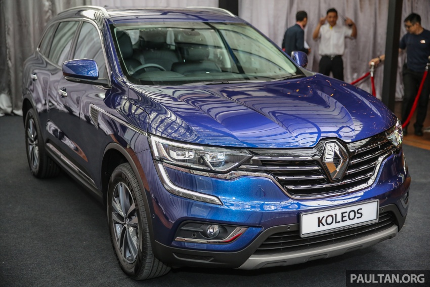 2016 Renault Koleos 2.5L launched in M'sia – RM173k Image #542183