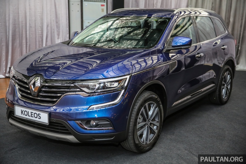 2016 Renault Koleos 2.5L launched in M'sia – RM173k Image #542184
