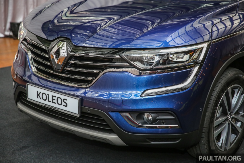 2016 Renault Koleos 2.5L launched in M'sia – RM173k Image #542185