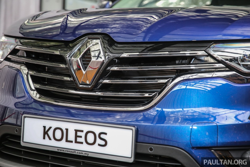 2016 Renault Koleos 2.5L launched in M'sia – RM173k Image #542188