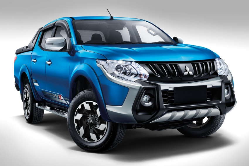 Mitsubishi Triton VGT dipertingkat dilancarkan- 2.4L MIVEC Turbodiesel, 181 PS/430 Nm, varian X baharu Image #545265
