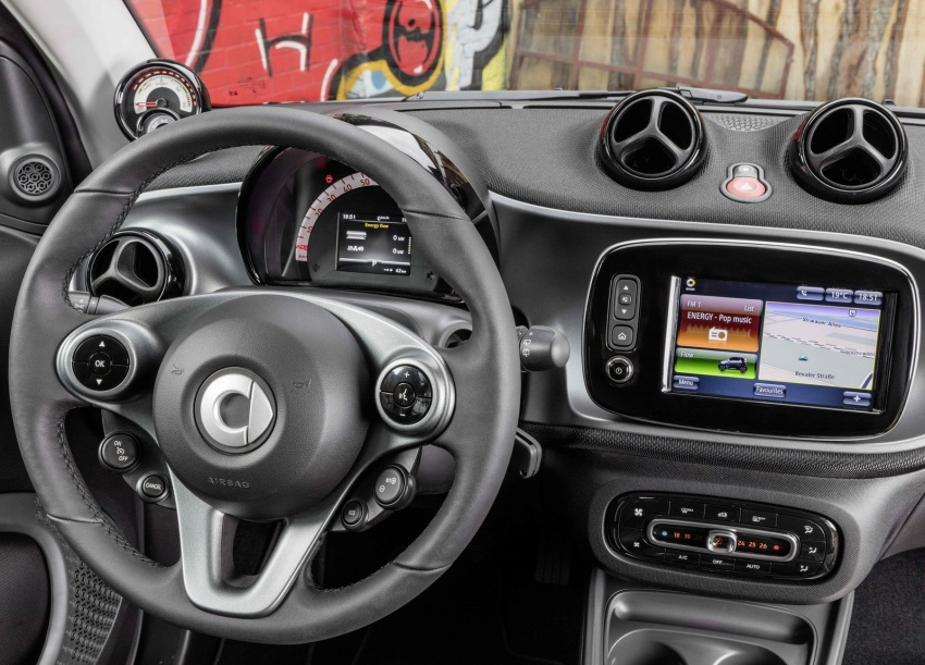 2017 Smart Electric Drive range: fortwo, cabrio, forfour Image #552697