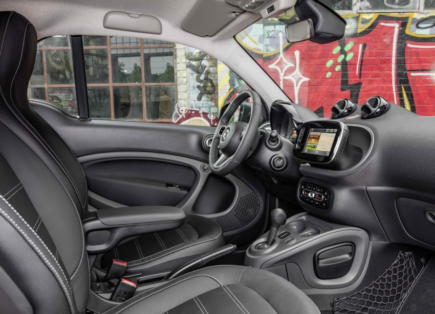 2017 Smart Electric Drive range: fortwo, cabrio, forfour Image #552698