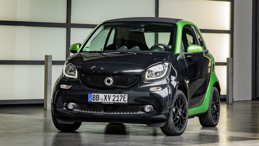 2017 Smart Electric Drive range: fortwo, cabrio, forfour Image #552701