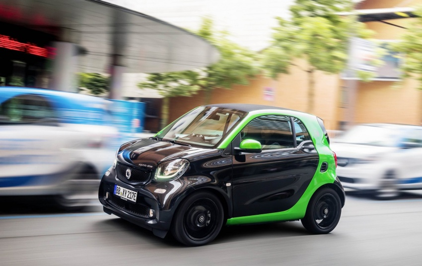 2017 Smart Electric Drive range: fortwo, cabrio, forfour Image #552706