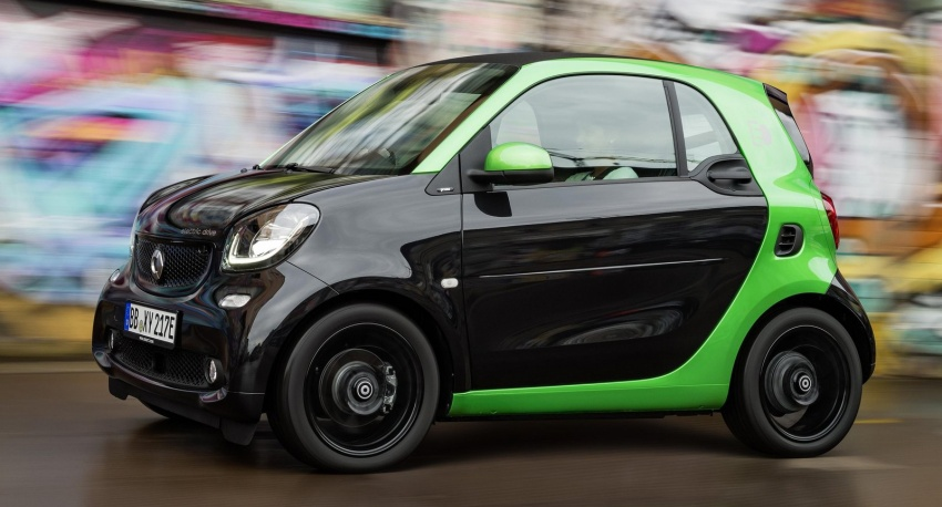 2017 Smart Electric Drive range: fortwo, cabrio, forfour Image #552707