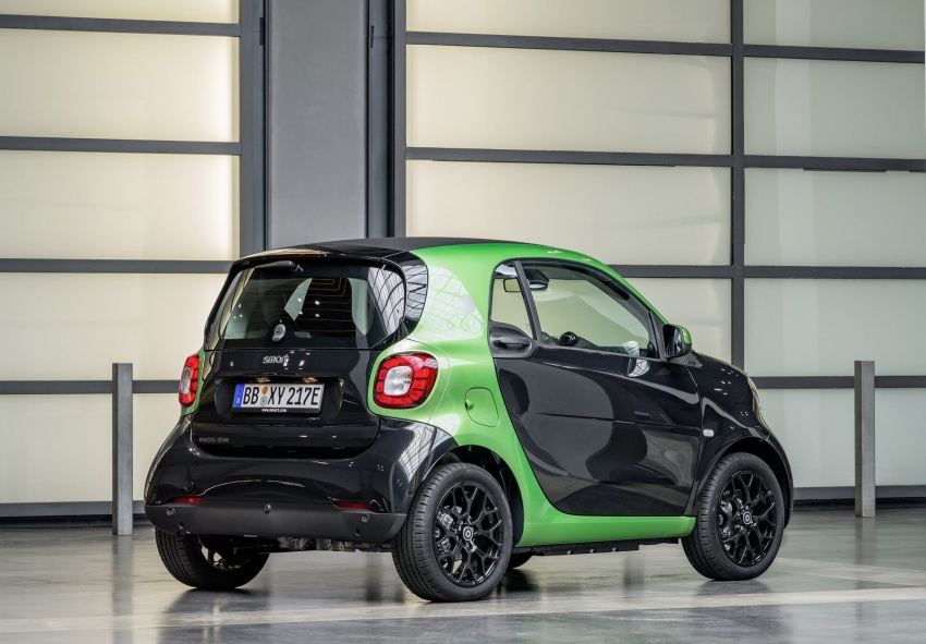 2017 Smart Electric Drive range: fortwo, cabrio, forfour Image #552708
