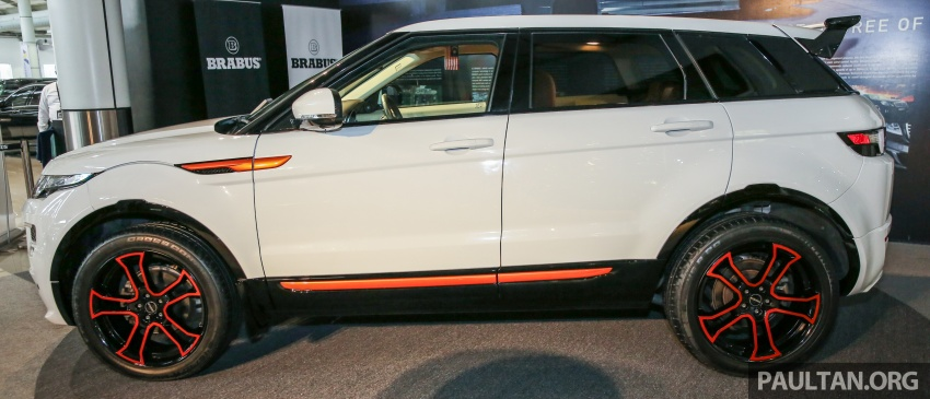 Brabus Startech kit for Range Rover Evoque previewed at Naza Merdeka Auto Fair 2016 Image #543012