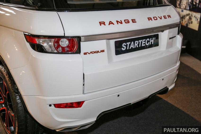 Brabus Startech kit for Range Rover Evoque previewed at Naza Merdeka Auto Fair 2016 Image #543020