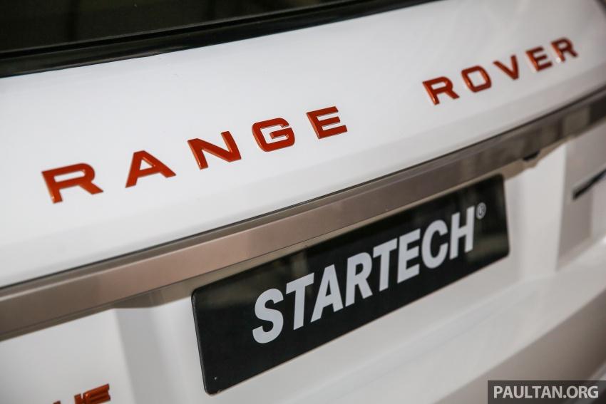 Brabus Startech kit for Range Rover Evoque previewed at Naza Merdeka Auto Fair 2016 Image #543022