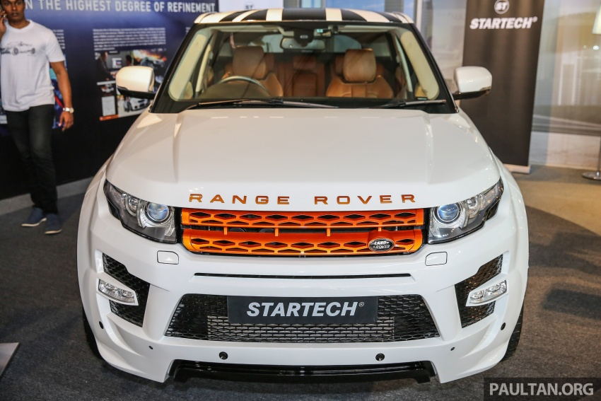 Brabus Startech kit for Range Rover Evoque previewed at Naza Merdeka Auto Fair 2016 Image #543004