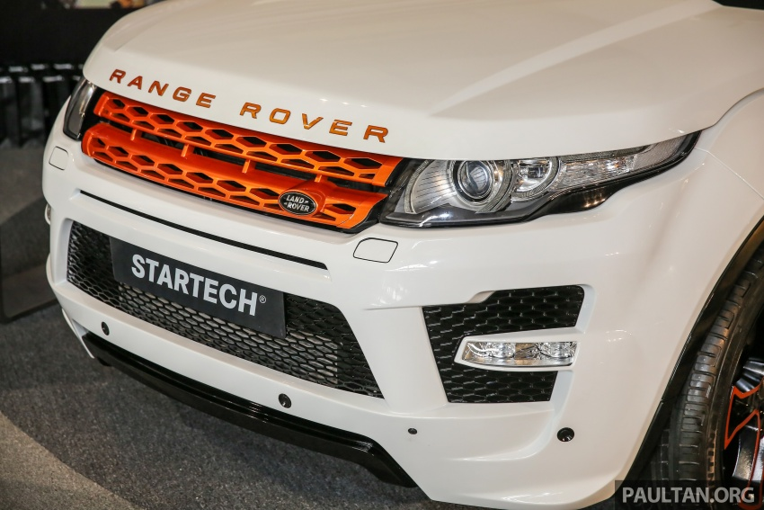 Brabus Startech kit for Range Rover Evoque previewed at Naza Merdeka Auto Fair 2016 Image #543007