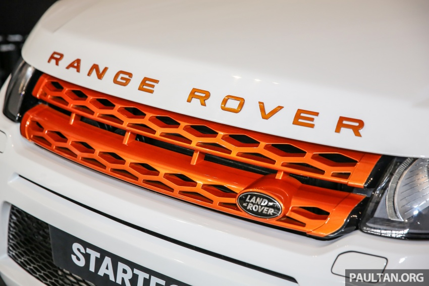 Brabus Startech kit for Range Rover Evoque previewed at Naza Merdeka Auto Fair 2016 Image #543009