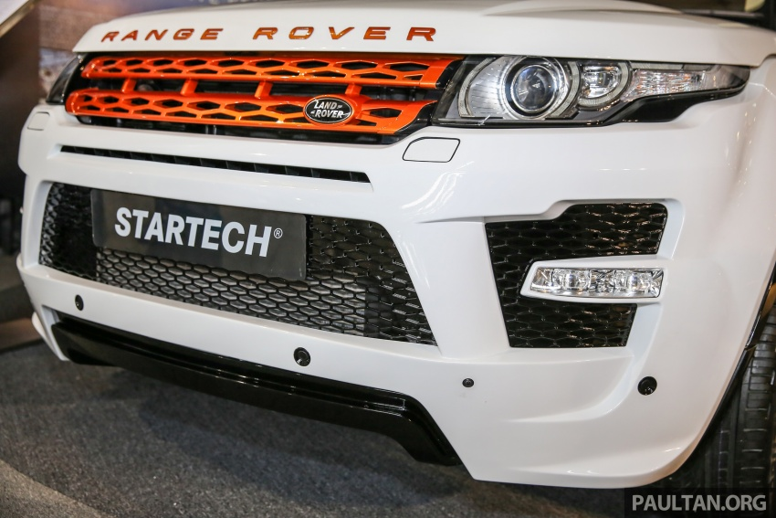 Brabus Startech kit for Range Rover Evoque previewed at Naza Merdeka Auto Fair 2016 Image #543010