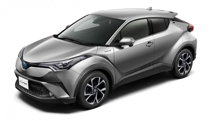 Toyota C-HR – initial specifications for Japan revealed Image #555051