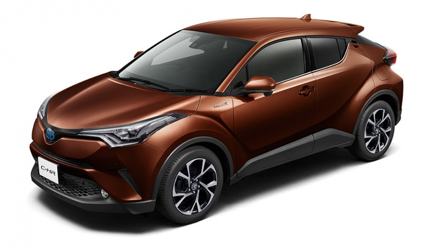 Toyota C-HR – initial specifications for Japan revealed Image #555053