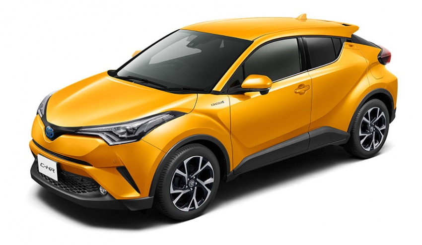 Toyota C-HR – initial specifications for Japan revealed Image #555054