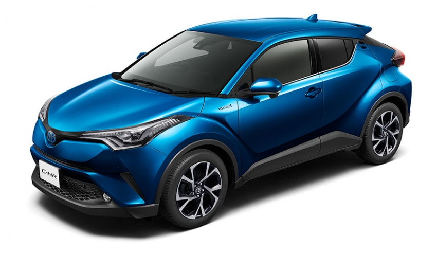 Toyota C-HR – initial specifications for Japan revealed Image #555056