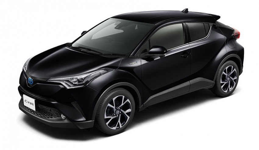 Toyota C-HR – initial specifications for Japan revealed Image #555058