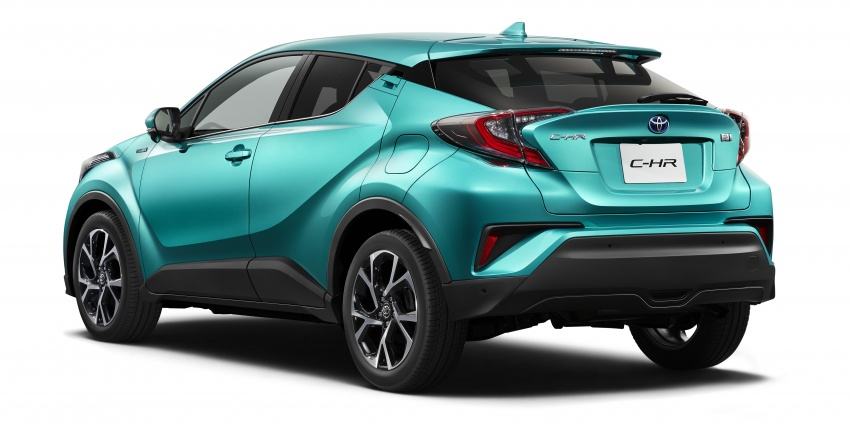 Toyota C-HR – initial specifications for Japan revealed Image #555062