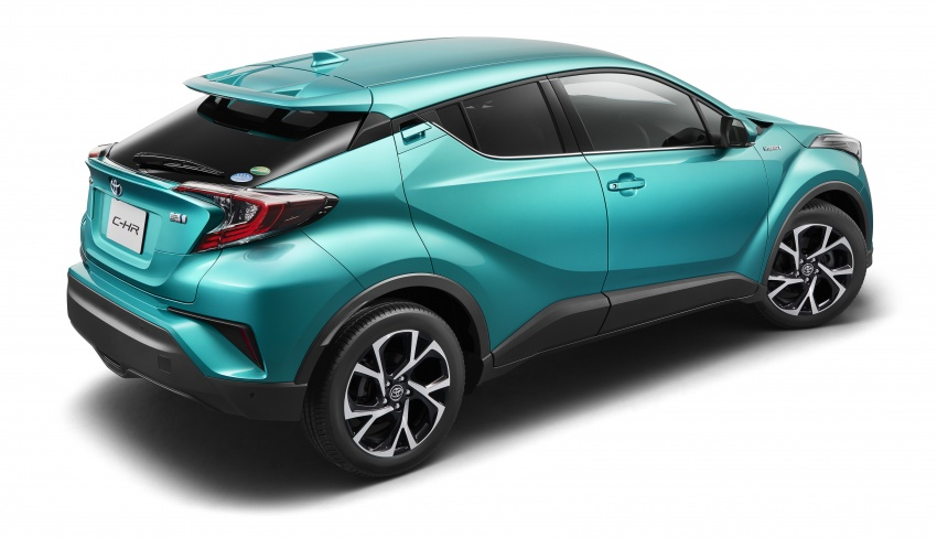 Toyota C-HR – initial specifications for Japan revealed Image #555063
