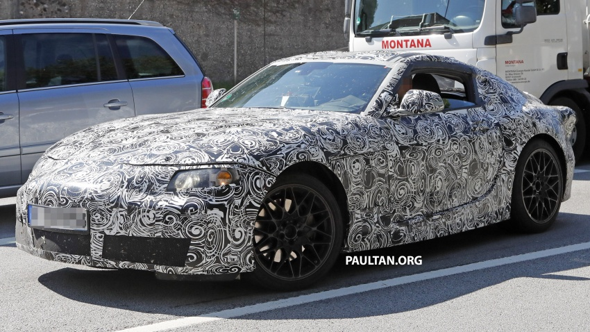 SPYSHOTS: Toyota Supra captured for the first time! Image #546865