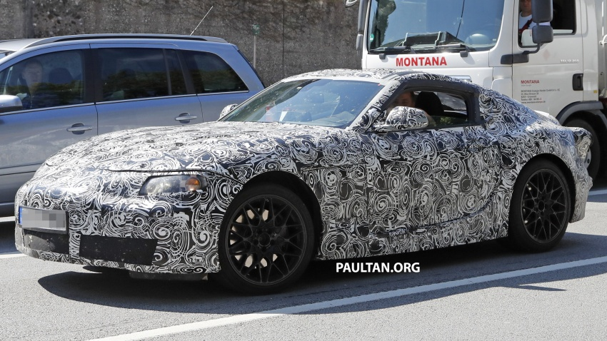 SPYSHOTS: Toyota Supra captured for the first time! Image #546866