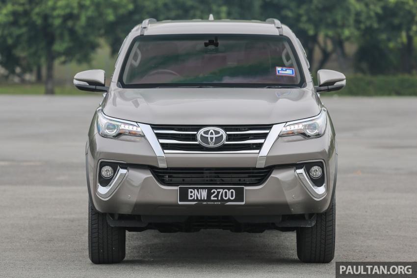 GALLERY: 2016 Toyota Hilux 2.8G, Fortuner 2.7 SRZ Image #543542