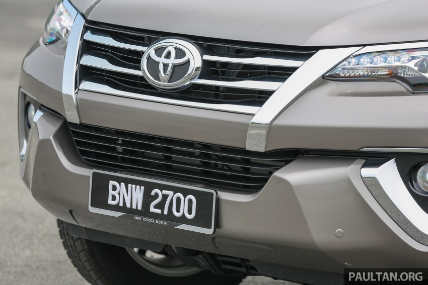GALLERY: 2016 Toyota Hilux 2.8G, Fortuner 2.7 SRZ Image #543555