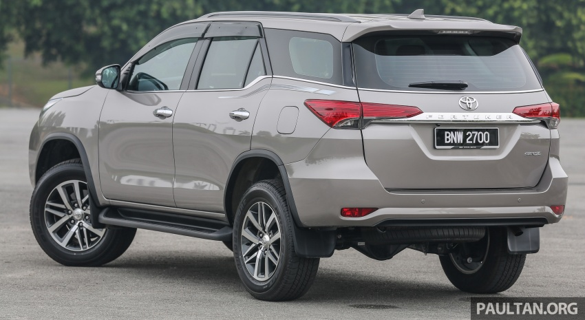 GALLERY: 2016 Toyota Hilux 2.8G, Fortuner 2.7 SRZ Image #543570
