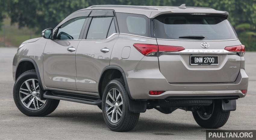 GALLERY: 2016 Toyota Hilux 2.8G, Fortuner 2.7 SRZ Image #543570