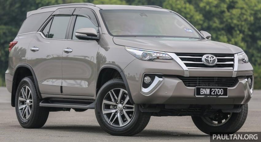 GALLERY: 2016 Toyota Hilux 2.8G, Fortuner 2.7 SRZ Image #543545