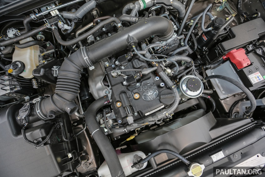 GALLERY: 2016 Toyota Hilux 2.8G, Fortuner 2.7 SRZ Image #543587
