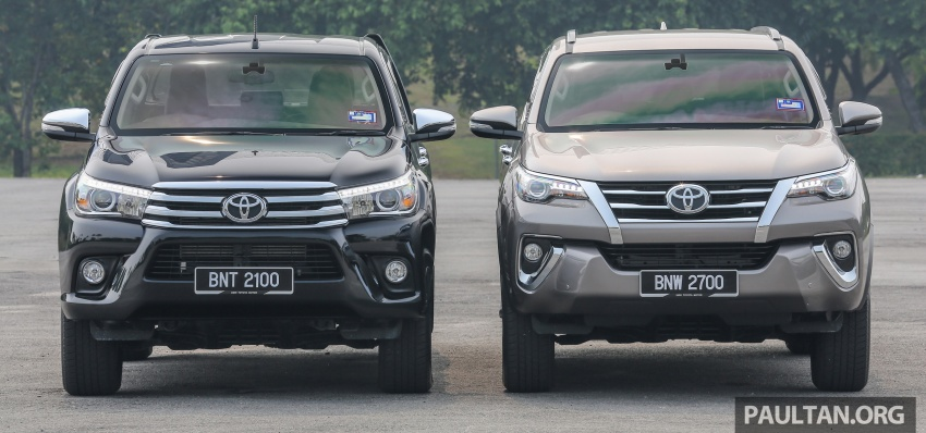 GALLERY: 2016 Toyota Hilux 2.8G, Fortuner 2.7 SRZ Image #543588