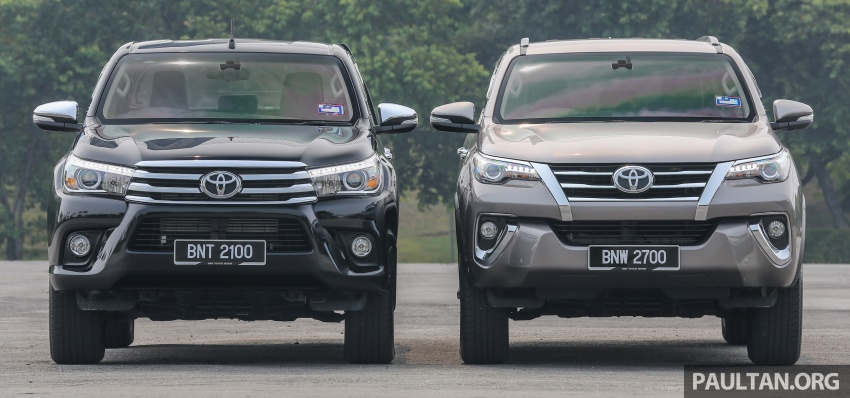 GALLERY: 2016 Toyota Hilux 2.8G, Fortuner 2.7 SRZ Image #543589