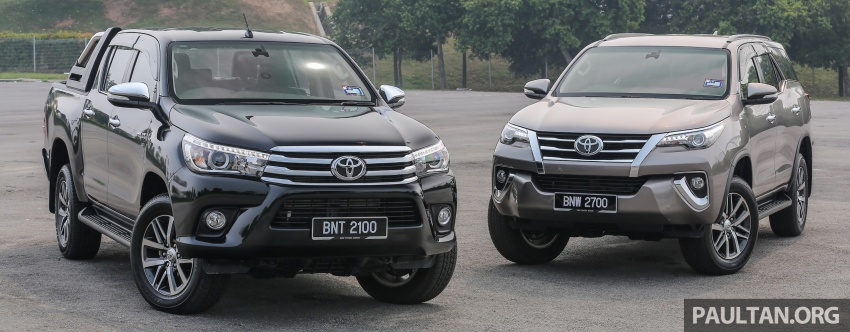 GALLERY: 2016 Toyota Hilux 2.8G, Fortuner 2.7 SRZ Image #543591