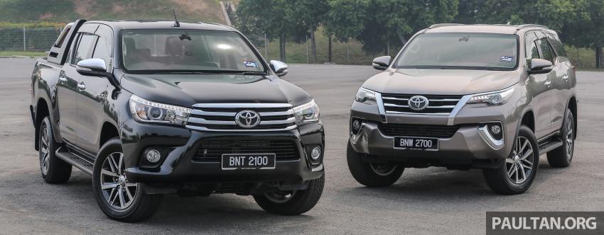 GALLERY: 2016 Toyota Hilux 2.8G, Fortuner 2.7 SRZ Image #543591
