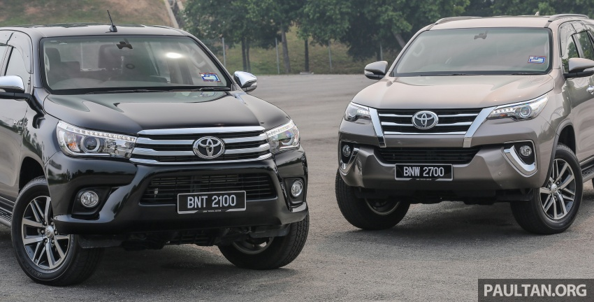 GALLERY: 2016 Toyota Hilux 2.8G, Fortuner 2.7 SRZ Image #543592