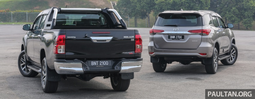 GALLERY: 2016 Toyota Hilux 2.8G, Fortuner 2.7 SRZ Image #543593