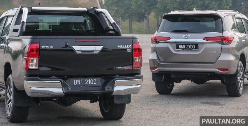 GALLERY: 2016 Toyota Hilux 2.8G, Fortuner 2.7 SRZ Image #543594