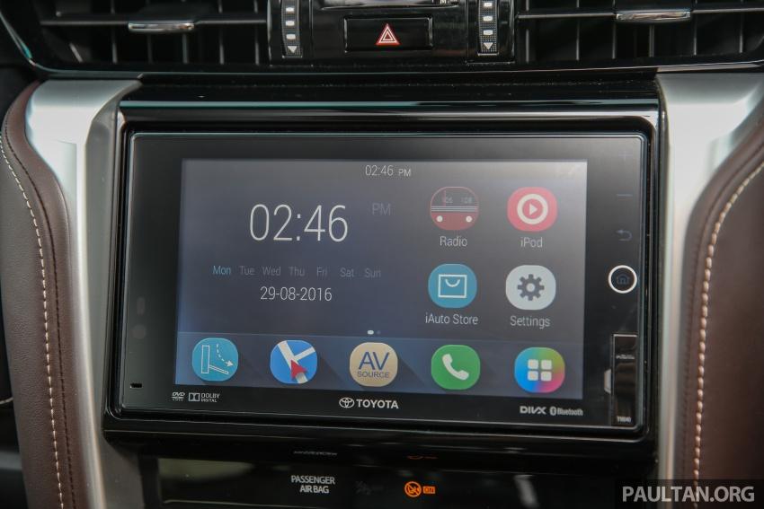 GALLERY: 2016 Toyota Hilux 2.8G, Fortuner 2.7 SRZ Image #543601