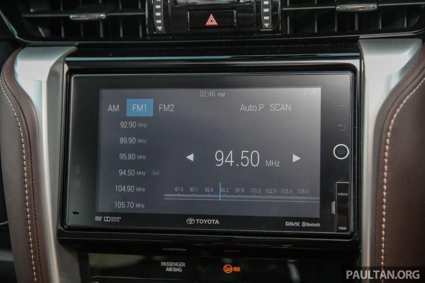 GALLERY: 2016 Toyota Hilux 2.8G, Fortuner 2.7 SRZ Image #543602