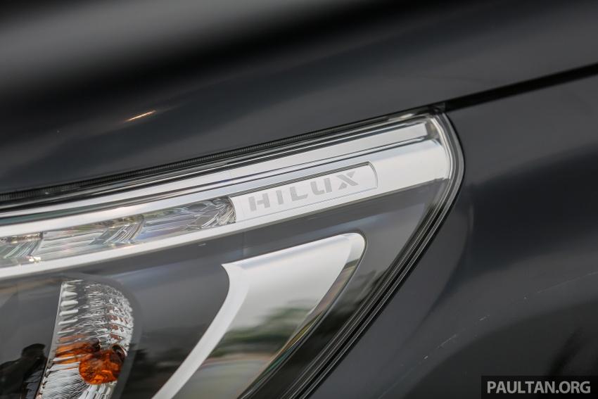 GALLERY: 2016 Toyota Hilux 2.8G, Fortuner 2.7 SRZ Image #543455