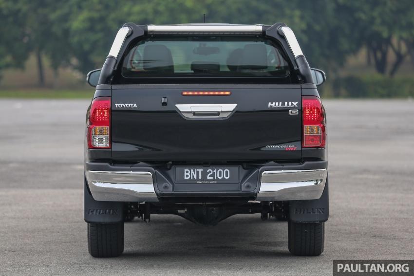GALLERY: 2016 Toyota Hilux 2.8G, Fortuner 2.7 SRZ Image #543474
