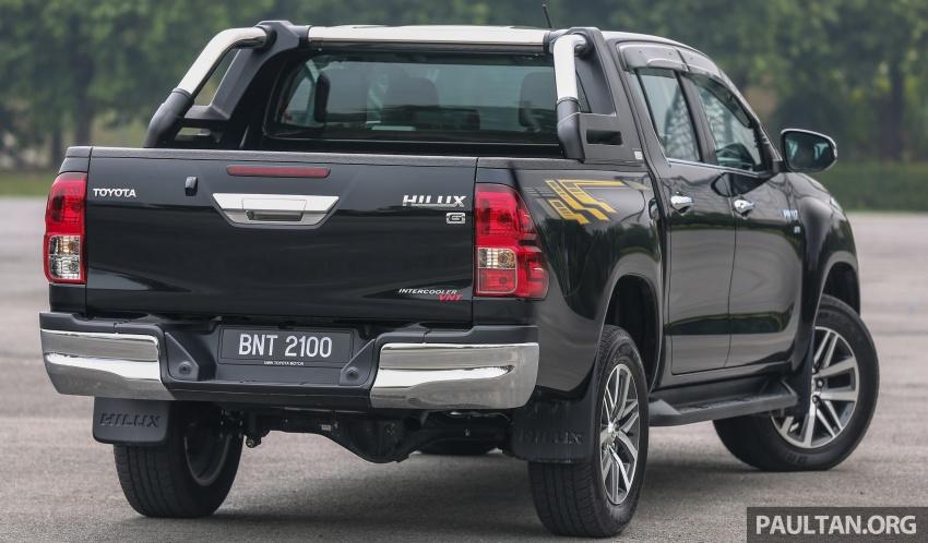GALLERY: 2016 Toyota Hilux 2.8G, Fortuner 2.7 SRZ Image #543478