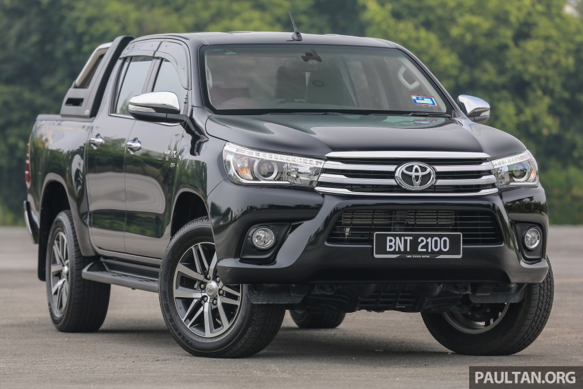GALLERY: 2016 Toyota Hilux 2.8G, Fortuner 2.7 SRZ Image #543449