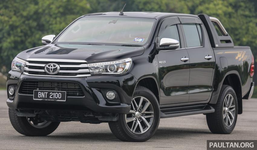GALLERY: 2016 Toyota Hilux 2.8G, Fortuner 2.7 SRZ Image #543450