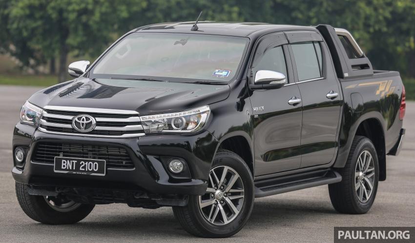 GALLERY: 2016 Toyota Hilux 2.8G, Fortuner 2.7 SRZ Image #543451