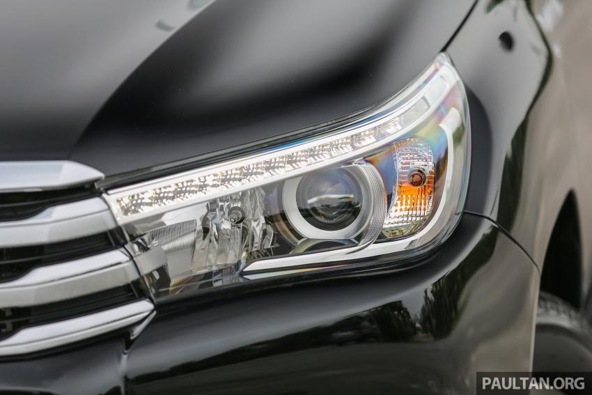 GALLERY: 2016 Toyota Hilux 2.8G, Fortuner 2.7 SRZ Image #543453